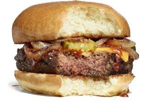 Impossible cheeseburger